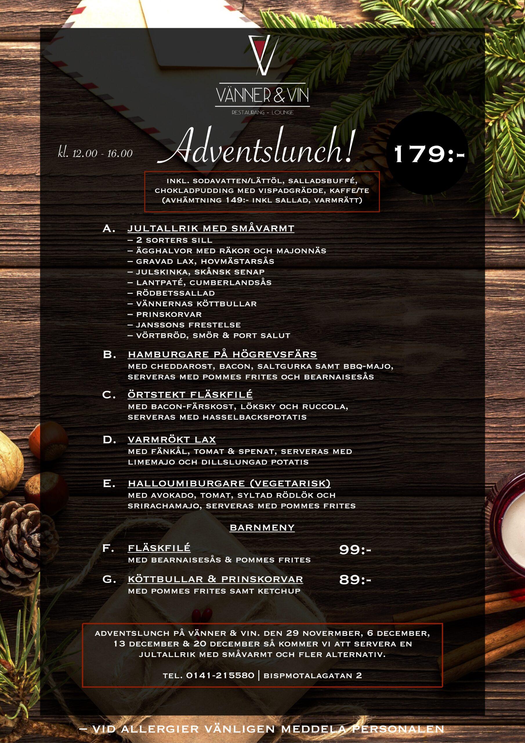 Adventslunch VV 2020